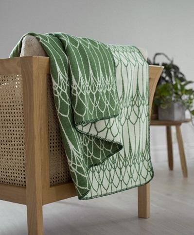 Grönskande grön filt från Design Lina Johansson