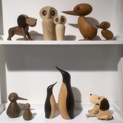 Träfigurer - dansk design från Den gamla butiken i Örsbäck