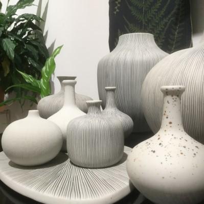 Keramikvaser från Lindform.