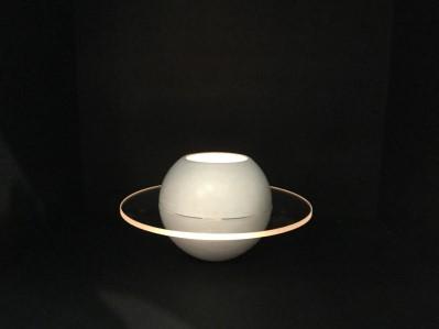 Vit Sfär-ljuslykta från JLM-form