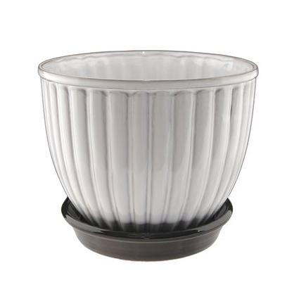 Nittsjo Keramiks Klassiska Blomkruka Ytterfoder N5